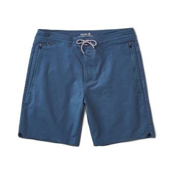 Roark Layover Stretch Travel Short - Indigo
