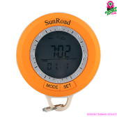 """Quagmire"" Sunroad Hiking Computer (6-in-1) - Compass Pedometer Thermometer"
