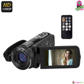 """Ordo"" Z8 Plus Digital Video Camera - 3"" LCD Touch Display 1080p 24MP Anti-shake"