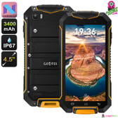 Geotel A1 Rugged Android 7.0 Phone (Orange)