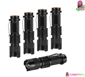 5x LED Mini Flashlight