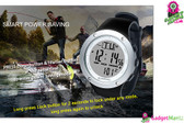 Fishing barometer watch FR722A