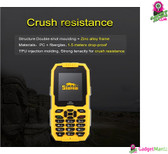 SNOPOW M2 Phone (Yellow)