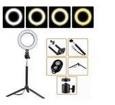 LED Ring Light Selfie Light Lamp Photo Camera