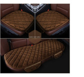 Coffee Color 3 Pcs Comfortable Car Cushion