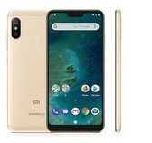 Xiaomi Mi A2 Lite 4GB RAM Cellphone Gold