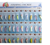 30pcs Kinds of Plastic Fishing Lures