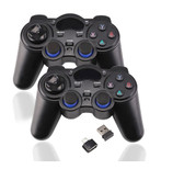 2 Pcs 2.4G Wireless Game Controller