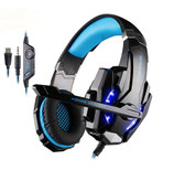 Black Blue  Gaming Headset