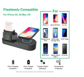 4-in-1 Qi Wireless Charger Fast Charging Dock