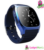 M26 Bluetooth Touch Screen Smart Watch -Blue
