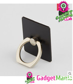 Portable Finger Ring Phone Holder - Black