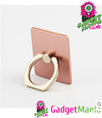 Portable Finger Ring Phone Holder -Rose gold