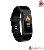 115plus Bluetooth Smart Watch - Black