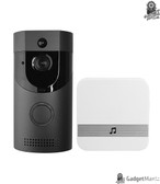 Anytek B30 Video Doorbell - EU Plug, Black