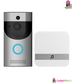 Anytek B30 Video Doorbell - UK Plug, Silver