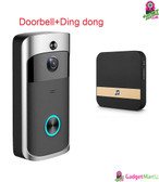 Anytek M3 DoorBell - Black EU Plug