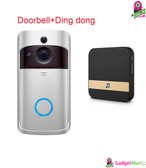 Anytek M3 Doorbell - Silver UK Plug