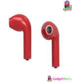HBQ i7 Single Stereo Bluetooth Headset -Red