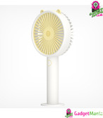 Cute Bear Shape Handheld Mini Fan, Yellow