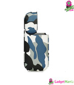 Camo PU Leather Case for IQOS - White