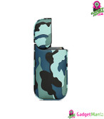 Camo PU Leather Case for IQOS - Light Green