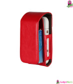 PU Cover Bag for IQOS E-Cigarette Red