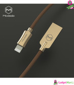 Knight Series Lightning Cable, Gold