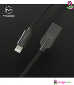Knight Series Lightning Cable, Black
