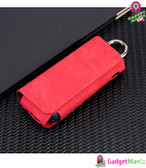 E-Cigarette Leather Case Holder Cover Red