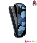 For IQOS 3.0 E Cigarette Camo Case, Blue