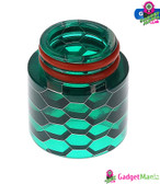 Snake Drip Tip Resin 810 Mouthpiece - Green