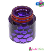 Snake Drip Tip Resin 810 Mouthpiece - Purple
