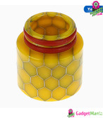 Snake Drip Tip Resin 810 Mouthpiece - Yellow