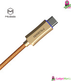 MCDODO Knight Charge USB Cable - 1m, Gold