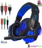 Over Ear Gaming Headset Blue