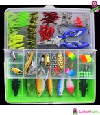 Lures Fishing KIT Tackle Box - Green