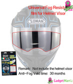 Universal Motorcycle General Antifogging Film