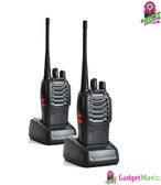 Baofeng BF-888S Walkie Talkie Black 2 Pack