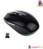 2.4GHZ Portable Wireless Mouse Black