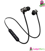 Wireless Magnetic In-Ear Earbuds Black