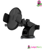 Windshield Mount Car Phone Holder - Black