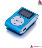 Metal Clip Digital MP3 Player LCD Screen