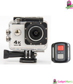 HD 4K WIFI Action Camera White