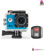 HD 4K WIFI Action Camera Blue