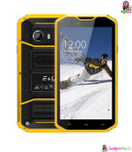 EL W8 2GB RAM 16GB ROM Rugged Phone - Yellow