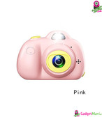Cute Portable 2.0 inch LCD Mini Camera Pink