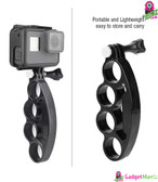 Handheld Plastic Knuckles Mount for Gopro