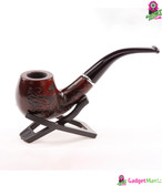 Chic Carve Patterns Wooden Pipe -Red