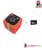 SQ11 Mini Camera Add 16GB Card Red